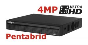 DVR 8MP pentabrid 16+8 camere HD+IP DAHUA XVR5116H-4KL