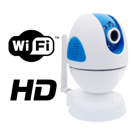 Camera rotativa IP 2 Megapixeli WiFi FORTEZZA IPC-M20i