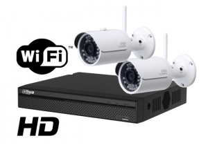 Kit wireless 4 camere DAHUA IP HD 4Megapixeli supraveghere exterior Pro ve04IP4m_b