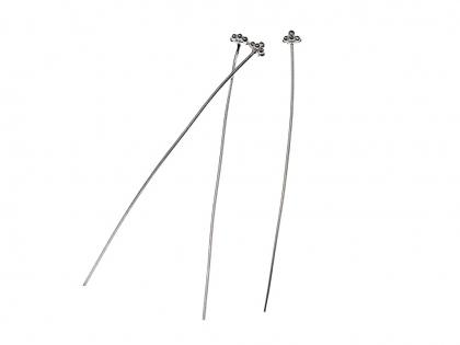 Distantiere triunghiulare argint 925 L 9 mm [0]