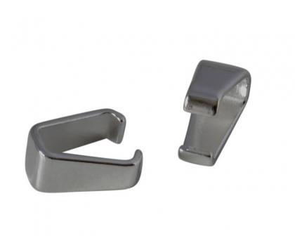 argintatatoare pandantiv alama argintie 12x6 mm 0