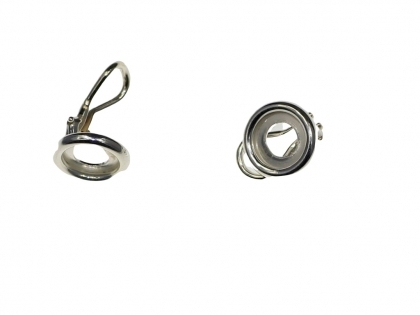 Baza cercei tip clips argint 925 D 8 mm [0]