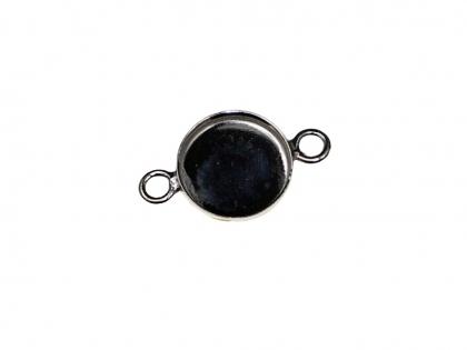 Baza conector tip caseta argint 925 D 10 0