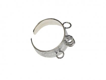 Baza inel reglabil argint 925   0