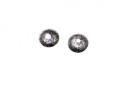 Capacele cu striatii argint 925 D 6 mm 0
