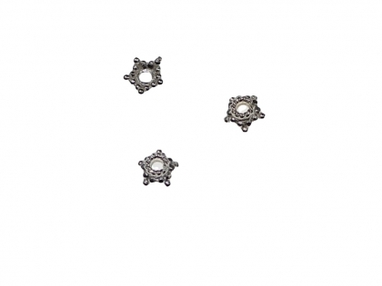 Capacele floare argint 925 D 5 mm 0