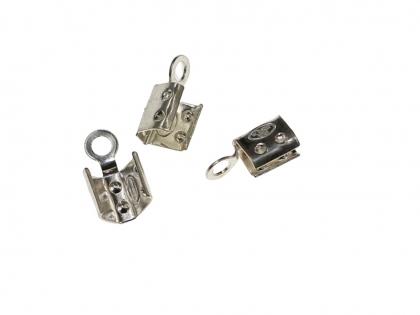 Capat snur argint 925 Lungimea 6 mm latimea 3 mm 0