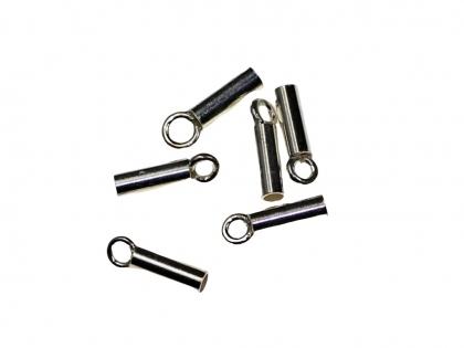 Capat snur cilindric argint 925 D 1 mm 0