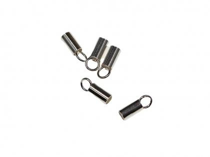Capat snur cilindric argint 925 D interior 3 mm 0