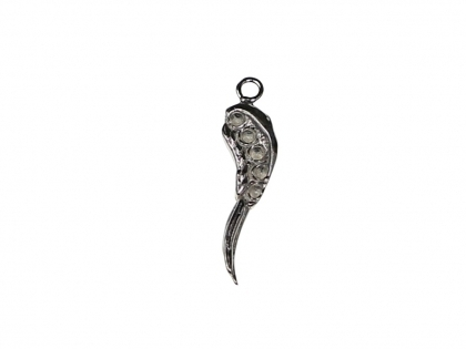 Charm aripioara de ingeras argint 925 L 20 mm [0]