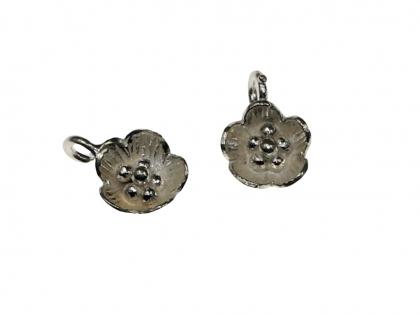 Bila decorativa perforata argint 925 D 20 mm  [0]