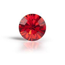 Chaton Cristal Preciosa® ss 39 red velvet [0]