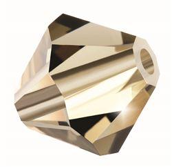 Cristale biconice Preciosa® 3 mm black diamond [0]