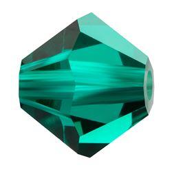 Cristale biconice Preciosa® 3 mm emerald [0]
