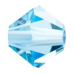 Cristale biconice Preciosa® 4 mm aqua [0]