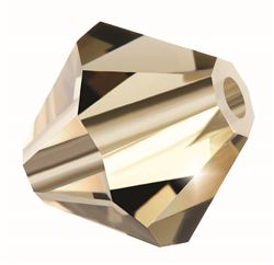 Cristale biconice Preciosa® 4 mm black diamond [0]