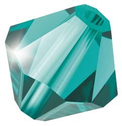 Cristale biconice Preciosa® 4 mm blue zirconiu [0]