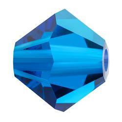 Cristale biconice Preciosa® 4 mm capri blue [0]