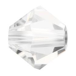 Cristale biconice Preciosa® 4 mm crystal [0]