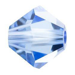 Cristale biconice Preciosa® 4 mm light sapphire [0]