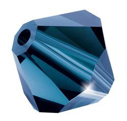 Cristale biconice Preciosa® 4 mm montana [0]
