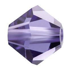 Cristale biconice Preciosa® 4 mm tanzanit [0]