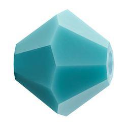 Cristale biconice Preciosa® 4 mm turquaze [0]