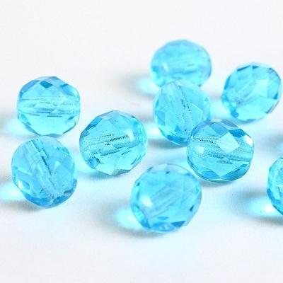 Cristale cehesti  firepolish 8 mm Aqua [0]