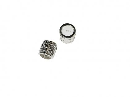 Distantier cilindric  argint 925 L 6 mm D 6 mm  0