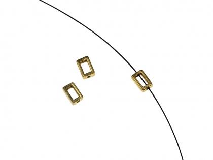 Capacele dinargint 925 cu aur galben D 3 mm [0]