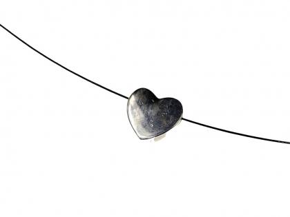 Distantiere inima argint 925 D 10 mm 0