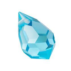 Drop Cristal Preciosa® 6x10 aqua Bohemica [0]