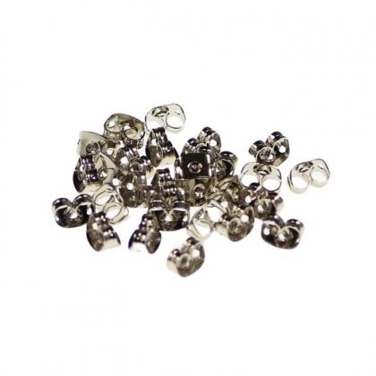 Fluturas pentru securizarea cerceilor cu surub din Stainless Steel argintiu si plastic [0]