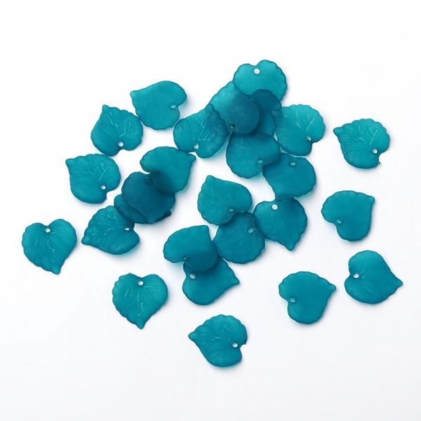 frunze-din-acrilic-transparent-turcuaz-frosted 1
