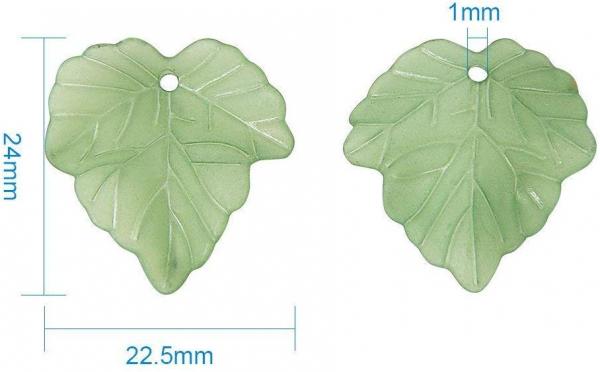 frunze-din-acrilic-verde-frosted 2