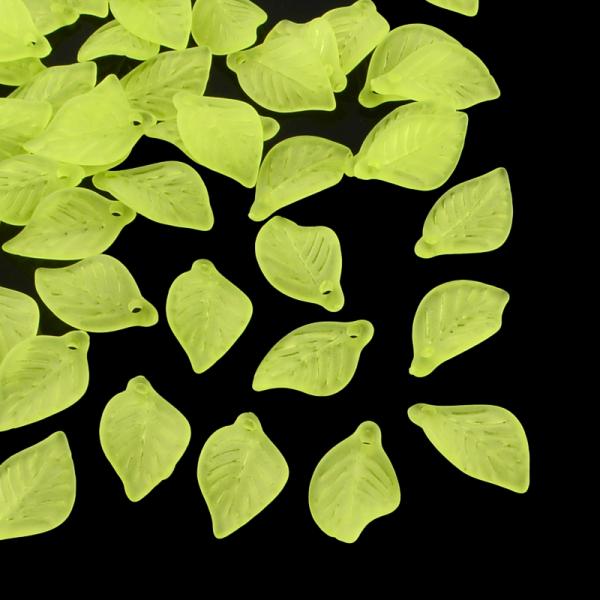 frunze-din-acrilic-verde-lime 0