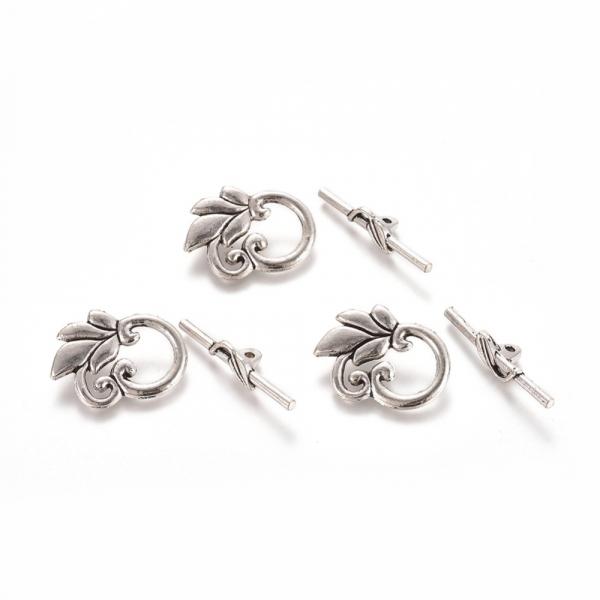 inchizatoare-togle-stil-tibetan-cu-frunza-argintiu-antichizat 0
