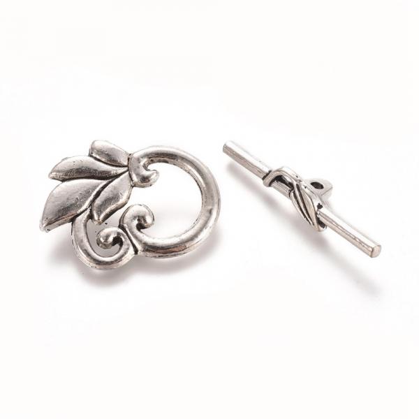 inchizatoare-togle-stil-tibetan-cu-frunza-argintiu-antichizat 1
