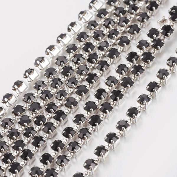 lant-argintiu-cu-stras-rhinestone-negru [1]