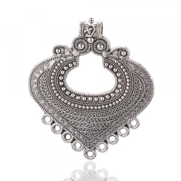 link-chandelier-stil-tibetan-argintiu-antichizat-dimensiunea-61x53x2mm 1