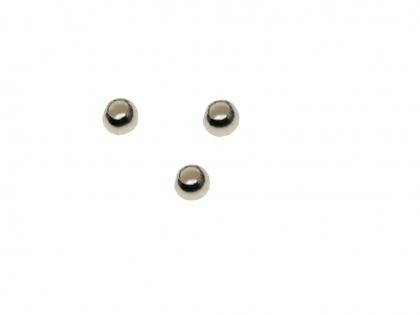 Margele argint 925 antichizat D 4mm 0