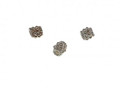 Margele argint 925 L 4mm D 4mm 0