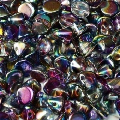 Margele cehesti Button 4 mm Crystal Margintic Blue [0]