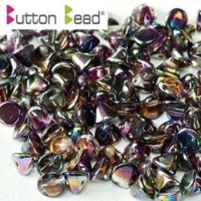 Margele cehesti Button 4 mm Crystal Margintic Purple [0]