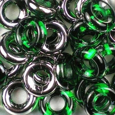 Margele cehesti Inele 10 mm Chrisolite Chrome [0]