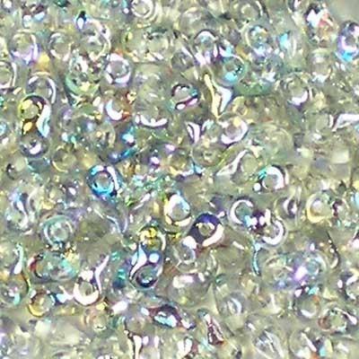 Margele cehesti Super8 Crystal blue rainbow [0]
