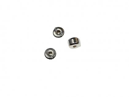 Margele cilindrice argint 925 D 4 mm G 3 mm 0
