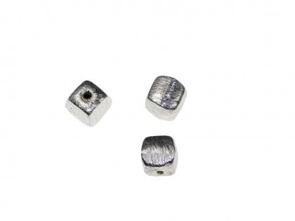 Margele decorative cub argint 925 L 4 mm 0
