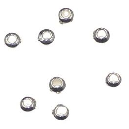 Margele metalice D 2,5 mm 0