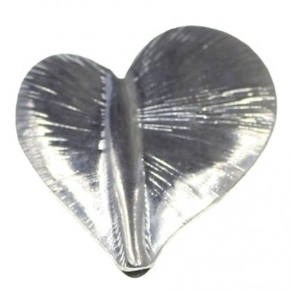 Margele metalice sub forma de inima 0